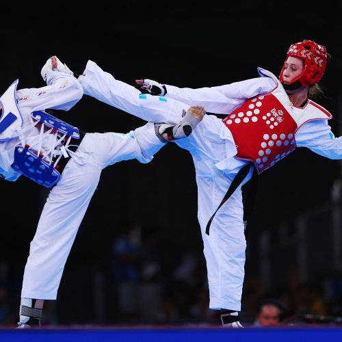Логотип организации Taekwondoo Online